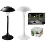 Felinar solar din Inox, lampa din plastic ABS , H33.5cm