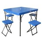 Masa picnic+4 scaune  19001