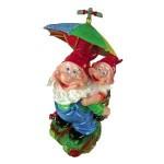Поливалка Гномы под зонтом  60cm 401