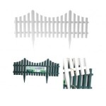 Gard decorativ pentru curte/gradina 60.5X33cm, 4buc
