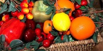 Fructe, legume artificiale